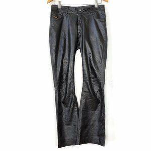90's VTG Diesel Leather Pants -need repair